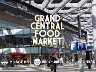 Grand Central Food Market | Interieur Ontwerp Bar – Restaurant Tubbs design Industriële gastronomie