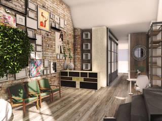 Centro estetico- hair salon- Catania: Spa in stile  di Maemarchitecture