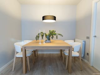 scandinavian Dining room by Pia Estudi