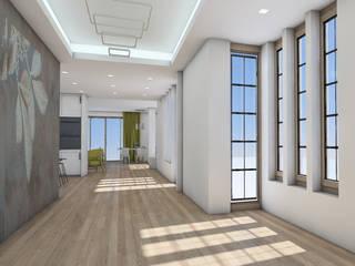 Ristrutturazione appartamento: Soggiorno in stile  di Maemarchitecture