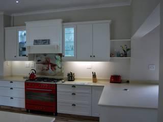 Capital Kitchens cc Cocinas de estilo clásico Tablero DM Blanco