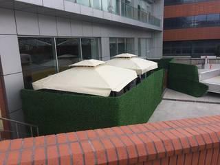 Akaydın şemsiye Offices & stores Aluminium/Zinc Beige