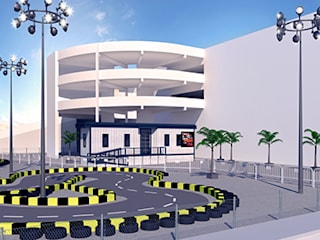 Go Kart Area Exterior Design:   by KCL-Solutions