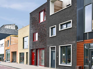 Energieneutrale woning Buiksloterham Moderne huizen van CUBE architecten Modern