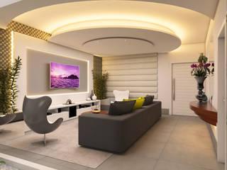 moderne Wohnzimmer von Caio Pelisson - Arquitetura e Design