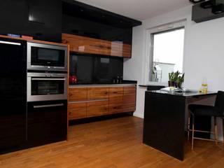 Mieszkanie 46 m2 na Muranowie: styl , w kategorii Kuchnia zaprojektowany przez Kossakowska design,