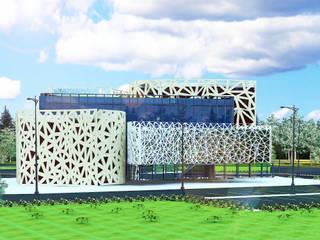 Музей современного искусства Офисы и магазины в эклектичном стиле от Садовникова Наталья Евгеньевна Эклектичный