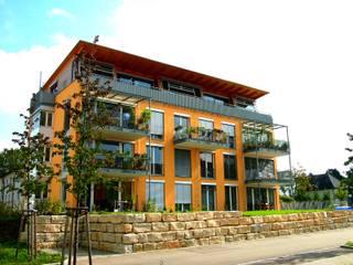 Mehrfamilienhaus als Baugemeinschaft:  Häuser von Architekturbüro Gahn