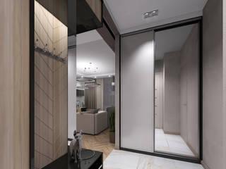 Лето Дизайн Eclectic style corridor, hallway & stairs