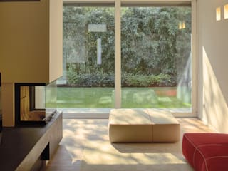 Villa M Soggiorno moderno di A ZERO STUDIO Moderno