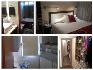 Anticipo de los espacios a recorrer: Dormitorios de estilo  por D&C Interiores