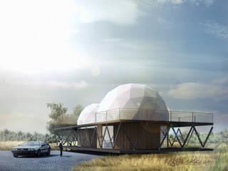 B+V Arquitectos Minimalist house