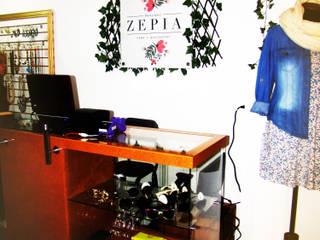 ZEPIA BOUTIQUE :  de estilo  por SIMETRIC ARQUITECTURA INTERIOR