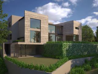 A-28: Casas de estilo  por LG STUDIO