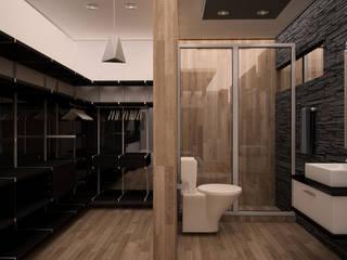 ห้องน้ำ โดย GarDu Arquitectos , มินิมัล ไม้ Wood effect