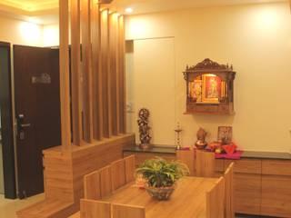 Salle à manger moderne par GREEN HAT STUDIO PVT LTD Moderne