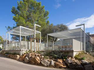 Restaurant administratif du CNRS de Montpellier NBJ Architectes Gastronomie moderne