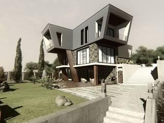 Ofis Mimarlık – HS2- EVİ:  tarz Evler