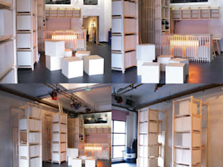 Modules, assises et bar:  de style  par Atelier VOUS