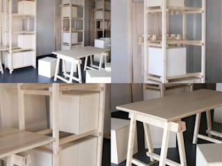 Modules, assises et tables:  de style  par Atelier VOUS