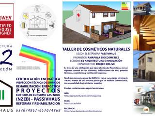 Cartel Obra: Oficinas y Tiendas de estilo  de E2 ARQUITECTURA E INNOVACIÓN SLP