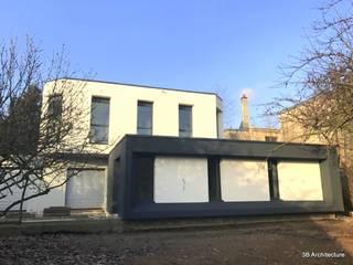 Extension N02: Maisons de style de style Moderne par 3B Architecture