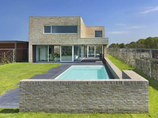 villa N VAN ROOIJEN ARCHITECTEN Moderne tuinen