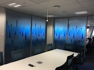 Clear Vinyl Decals:  Study/office by Resurface Graphics
