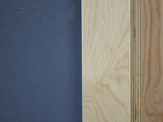 UAIG | Ufficio Architettura Interni Grammauta ห้องทำงานและสำนักงาน แผ่นไม้อัด Plywood