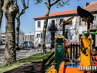 Edifício Santiago Casas modernas por Esquissos 3G Moderno