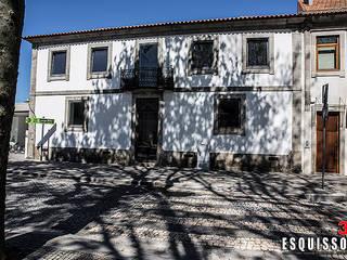Edifício Santiago: Casas  por Esquissos 3G,Moderno