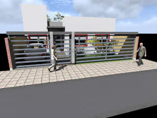 Vivienda FB: Casas de estilo  por MRArquitectura