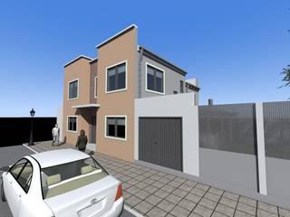 Vivienda RC: Casas de estilo  por MRArquitectura