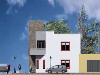 Vivienda BF: Casas de estilo  por MRArquitectura