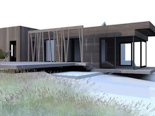 Maison DLS: Maisons de style  par ATO ARCHITECTURE