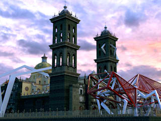 Pabellon Catedral de Puebla:  de estilo  por anarqhy anti - diseño