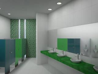Interior baño niños:  de estilo  por Lasso Design Studio