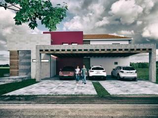 PROPUESTA FACHADA: Casas de estilo  por Lasso Design Studio