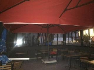 Akaydın şemsiye Modern Garden Aluminium/Zinc Red