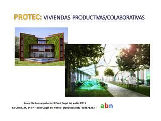Minimalist house by abn arquitectura Minimalist