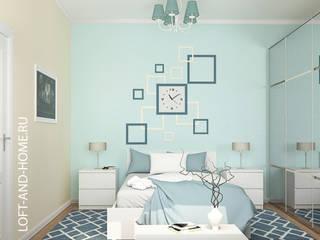 КВАРТИРА, КРАСНОГОРСК, 84М2: Спальни в . Автор – Loft&Home