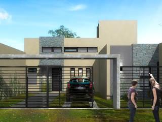 CASA LG Casas modernas: Ideas, imágenes y decoración de Estudio Viviani Moderno