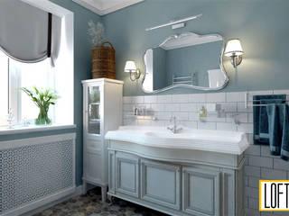 ТАУНХАУС, КЕМБРИДЖ ПРОВАНС: Ванные комнаты в . Автор – Loft&Home