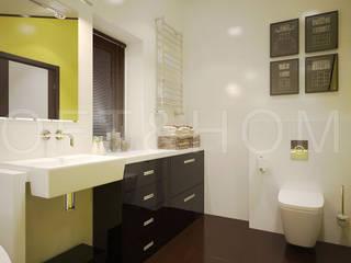 ТАУНХАУС, КП КЕМБРИДЖ: Ванные комнаты в . Автор – Loft&Home