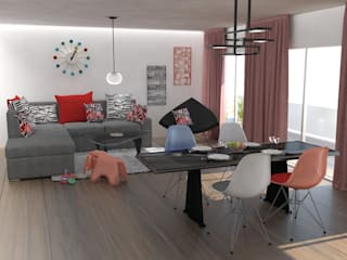Living room by Vidal Molina Arquitectos, Modern