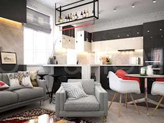 ТАУНХАУС, КЕМБРИДЖ, 140М2: Кухни в . Автор – Loft&Home