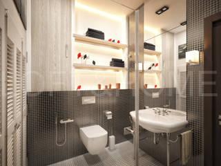 ТАУНХАУС, КЕМБРИДЖ, 140М2: Ванные комнаты в . Автор – Loft&Home