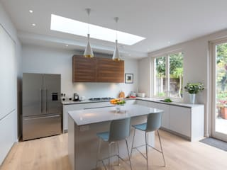 East Finchley Home Modern Mutfak Studio Mark Ruthven Modern