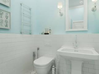 ТАУНХАУС, КЕМБРИДЖ, НЕОКЛАССИКА: Ванные комнаты в . Автор – Loft&Home