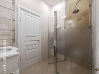 ТАУНХАУС, КЕМБРИДЖ 124М2: Ванные комнаты в . Автор – Loft&Home
